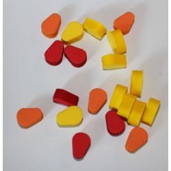 paquet de 20 Rig foam couleurs