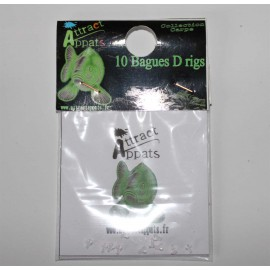 aligneur hameçon vert translucide