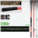 Canne surfcasting OUTCAST GLOW 3 sect