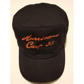 Casquette noir basique hurricane carp 53