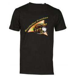 Polo manche courte noir hurricane carp53