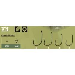 Sachet 10 hameçons carbon VORTEKS 803BN