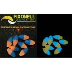 oval gum fixonell blanc / translucide