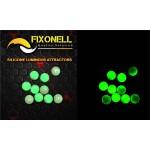 Perles fixonell vert / pailletté