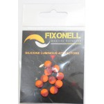 Perles fixonell orange/mauve paillette