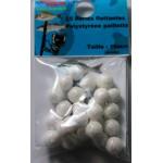 Sachet 8 perles superflot Rose /Bleu poseidon gum