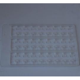 plaquette stop bouillettes 1 taille translucide