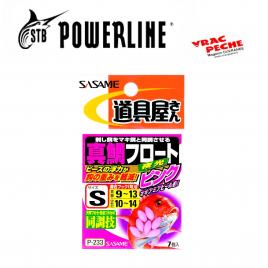 Sachet 7 Perles roses Sasame P 233 powerline