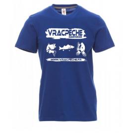 Tee shirt Blanc VRACPECHE