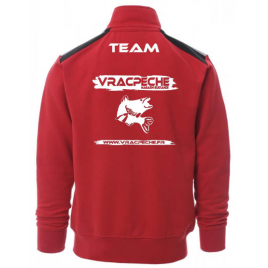 Sweat zippé Team MER VRACPECHE