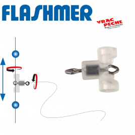 coulisseaux droits 50x3mm transparents flashmer