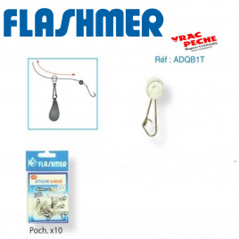 T swivel translucide flashmer