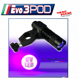 Bras lateral  10cm support 1 canne  EVO3POD