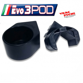 Bac fin noir 40x30cm EVO3POD