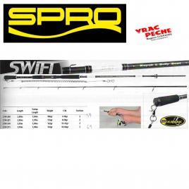 Canne SWIFT KAYAK /float tube SPRO