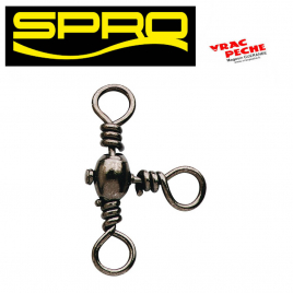 Double safety snap swivel SPRO