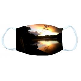 Masque protection Basic 165x105 ombre carpe