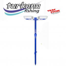 support pique peigne et bac 150 cm turkana fishing