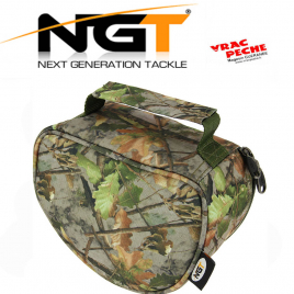 Housse moulinet GM camo NGT