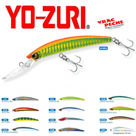 Crystal minnow 110 mm DD yo zuri