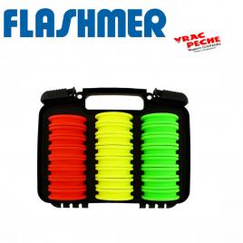 Boite 10 plioirs ronds 65 mm flashmer