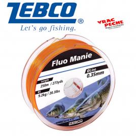 Bobine nylon ZEBCO Orange fluo manie