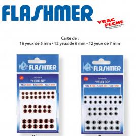Sachet yeux adhesifs 3 D Flashmer
