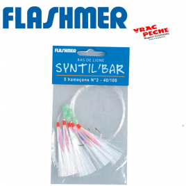 bas de ligne Syntil bar flashmer