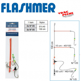 Bas de ligne long trainard flashmer