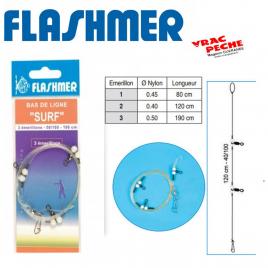 Bas de ligne Surfcasting DL5 flashmer