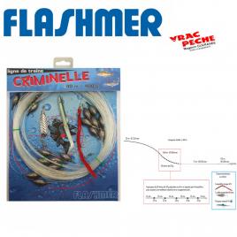 Bas de ligne congre raie maigre flashmer