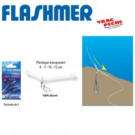 anti tangle plastique translucide flashmer
