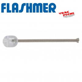 Perle clipot emerillon 5x8mm flashmer