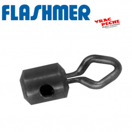 Perle clipot ressort 5x8mm flashmer