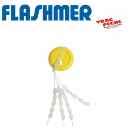Stop float ovale translucide flashmer