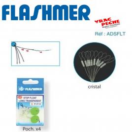Stop float long translucide flashmer