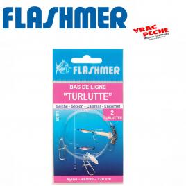Turlutte Calamarette 6 cm GP flottante  flashmer