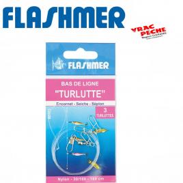 Bas de ligne Turlutte 2 potences  flashmer