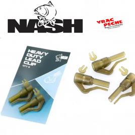 Heavy Duty Lead Clips NASH