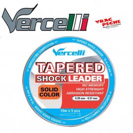 TAPERED SHOCK LEADER Orange15 m Vercelli