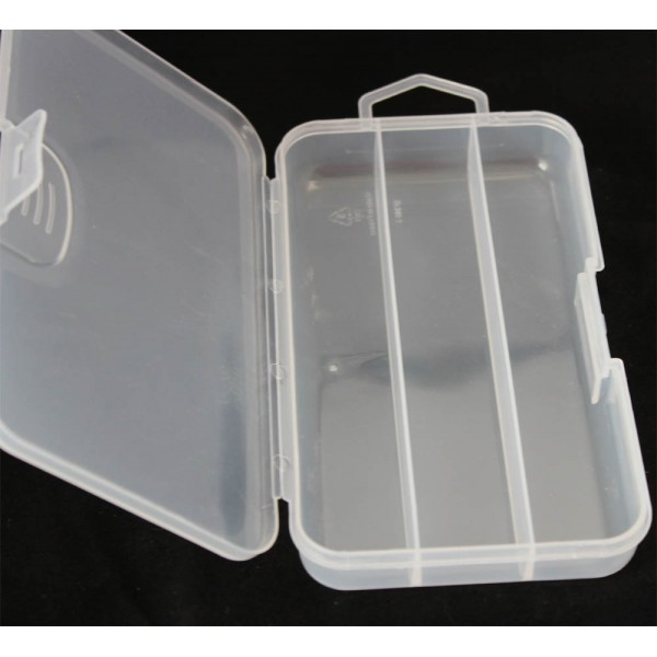 boite 16.5x9.5cm 3 compartiments