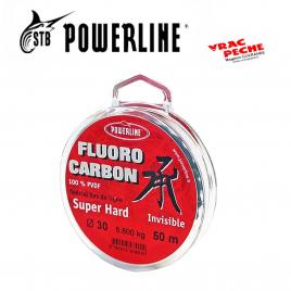 Bobine fluorocarbone 50 m SUPER HARD powerline