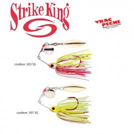 Bleeding bait mini king spinner bait strike king
