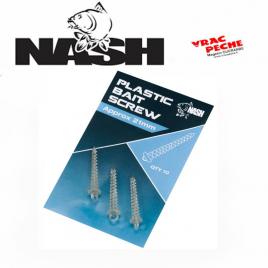 plastic bait screw 21 mm nash