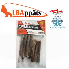 Sachet  couteux entiers congelés  LBappats