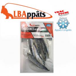 Sachet Sardines méditerannées congelés  LBappats