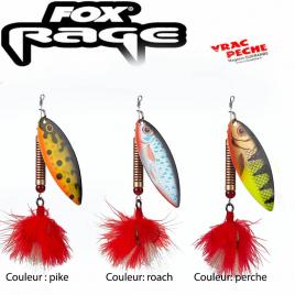 leaf spinners cuiller fox rage
