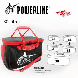 Epuisette 48x60 rubber powerline