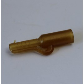 clip plomb plastique vert