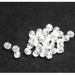 perle en verre ovale translucide 6x5 mm